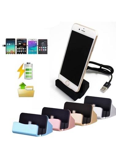 Techmaster Masaüstü Şarj Aleti Stand Dock iPhone 7 8 X Xs Xs 11 12 Pro Max Renkli